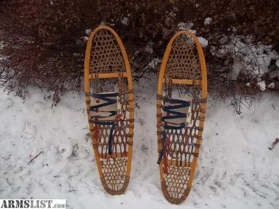 For Sale: canadian snowshoes