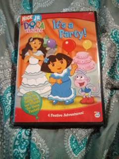 Dora the explorer dvd