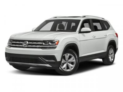 2018 Volkswagen Atlas 3.6L V6 SE w/Technology (Deep Black Pearl)