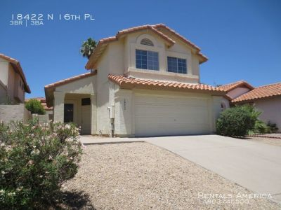 Great Layout, Charming Features, Nice Views in 3 Bed 3 Bath of N Phx!