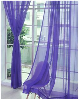 Window curtain with white curtain rod