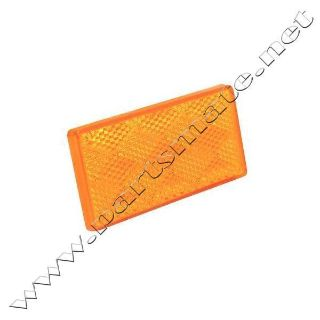 Purchase Seachoice 52571 SUBMERSIBLE RECTANGULAR REFLECTOR / AMBER REFLEC motorcycle in Renton, Washington, US, for US $2.79