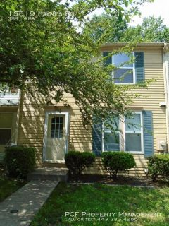 Lovely 3 bedroom townhome in Laurel