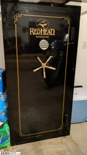"For Sale/Trade: Redhead 24 Gun Safe 60"" Tall Gloss Black"
