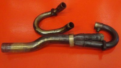Sell 1999 BMW F650 F SERIES EXHAUST MANIFOLD HEADER PIPE 18112345180 18112345035 motorcycle in Tampa, Florida, US, for US $87.49