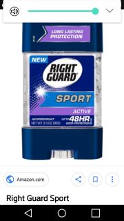 ISO Right Guard Gel Deodorant