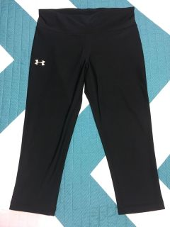 Under Armour crop pants sz small