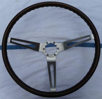 Original 1967 1968 Corvette Simulated Wood Steering Wheel