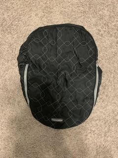 JJ Cole Car Seat Cover (Great for Winter)