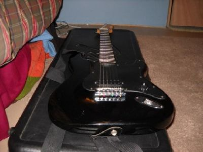 $100 OBO fender squier bullet guitar with hardcase