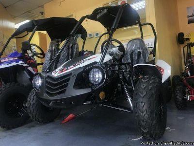 Trailmaster 150cc automatic go kart on sale