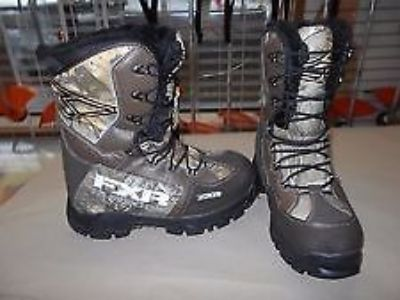 Sell NEW FXR X-CROSS SNOWMOBILE BOOTS REALTREE XTRA SIZE: MENS 10.5 13515.333105 motorcycle in North Adams, Massachusetts, United States, for US $169.95