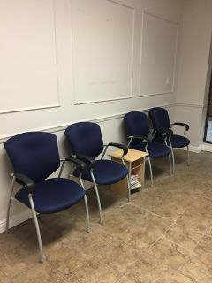 4 Office Waiting Room Chairs