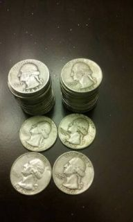 Roll of 90% silver quarters