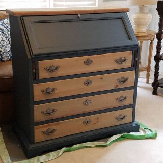 Antique Secretary with Drawers
