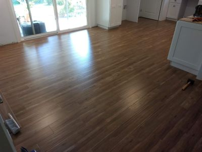 LOCAL FAMILY OWNED LICENSED/BONDED FLOORING CONTACTOR SPECIALIZING IN HARDWOOD, LAMINATE, LVP, VCT, CARPET TILE ETC.