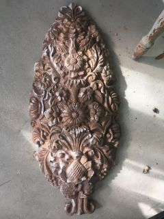 Awesome plaster salvage piece , antique