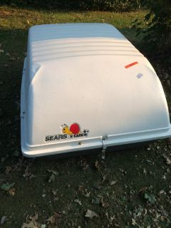 Sears X Cargo Car Top Carrier / Storage