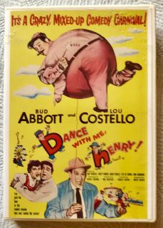 Abbot and Costello: Dance With Me Henry! DVD! Rare!