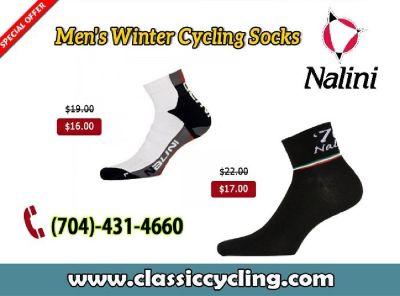 Nalini Winter Sock for Men @ Classic Cycling – Salisbury, NC