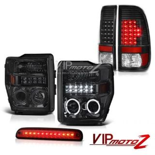 Purchase 2008-2010 F350 Turbo Diesel Headlights Projector LED Taillights High Brake Cargo motorcycle in Walnut, California, United States, for US $347.39
