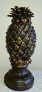 Carved Wood Pineapple