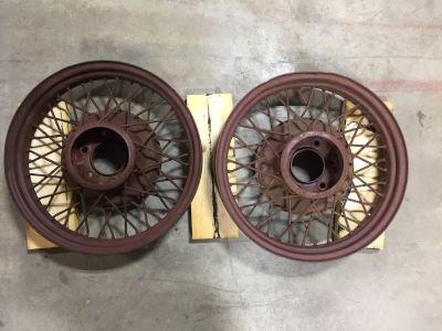 1931 Chevrolet wire wheels