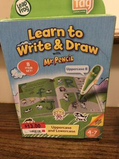 Leap frog learn to write and draw