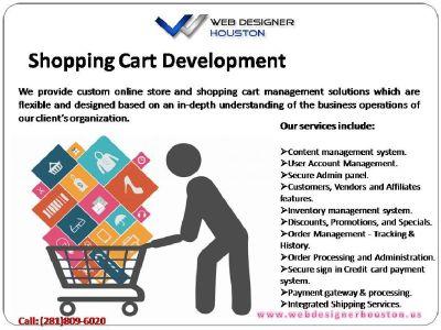 Shopping Cart Development company