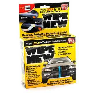Buy Wipe New AS SEEN ON TV Auto Cleaner BRAND NEW! motorcycle in Benton, Arkansas, US, for US $16.95