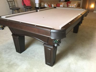 Awesome Olhaufen Made in USA, 8 foot Pool Table