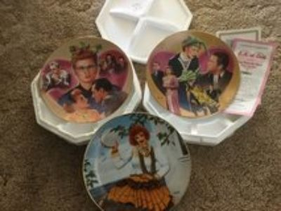 I love Lucy decorative collectors plates