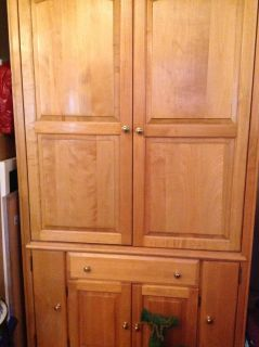 Armoire and Desk