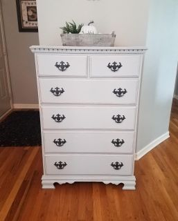 Gray Dresser/Chest of Drawers