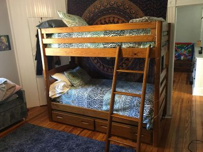 Bunk Beds or two single beds