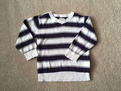 Striped sweater 3T