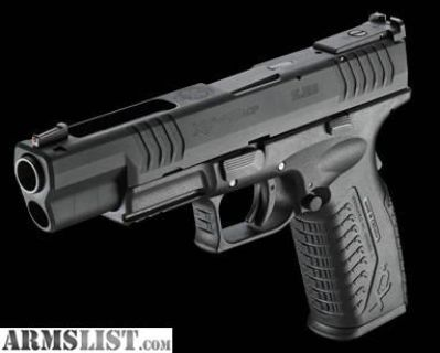 """For Sale/Trade: XDM 5.25 """"competition"""" .45"""