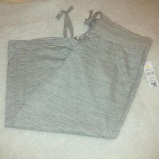 New with tag Gray joggers