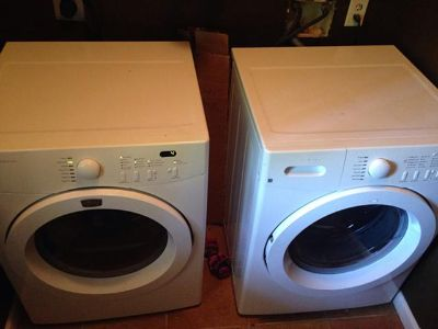 $400, Washer and dryer