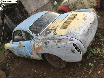 1970 VW Karmann Ghia project with parts