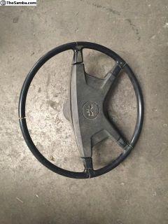 1972 VW Bug steering wheel