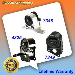 Sell Engine Motor Mount Set 3PCS for 2007-2008 Nissan Maxima 3.5L w/ Sensors M983 motorcycle in Pompano Beach, Florida, United States, for US $97.85
