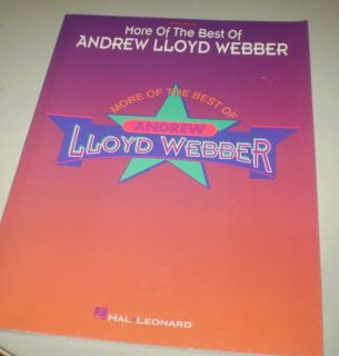 More of the Best of Andrew Lloyd Webber - Easy Piano Lesson Sheet Music Book