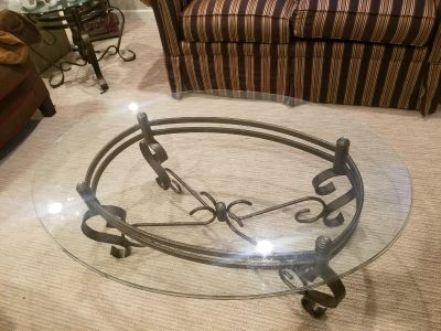 Table and 2 end tables