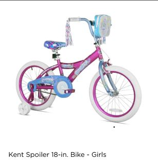 Brand new 18 inch girls bike. No training wheels included