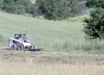 Weed Abatement by Bobcat Mowing in Wildomar