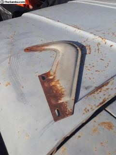 Early og paint bug hood hinge