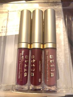 New Unused Liquid Stay All Day Lipsticks PPU ONLY
