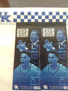 2018-19 UK Men's Basketball Season Tix