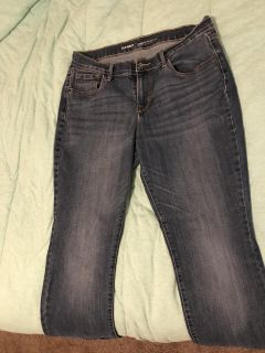 $8 Old Navy Jeans curvy/profile